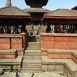 Stock Photo: Kathmandu temples