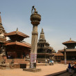 Patan Square in Nepal - Stock Photo
