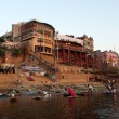 Varanasi Ganges River - Stock Photo