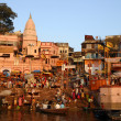 Varanasi Ganges River — Stock Photo