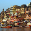 Varanasi Ganges River — Foto de Stock