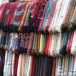Textiles market — Stock Photo