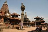 Patan Square in Nepal — Stock Photo