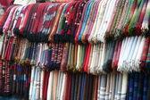 Textiles market — Stock Photo