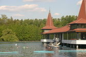 Heviz Spa Lake — Stock Photo