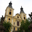 Eger church in Hungary - 图库照片