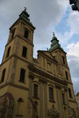 Eger church in Hungary — Stock Photo
