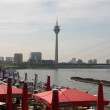 Stock Photo: Dusseldorf Riverside city