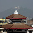 Stock Photo: Kathmandu stupa