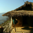Stock Photo: Nepal hut