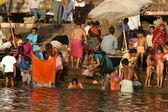 Varanasi-fluss — Stockfoto