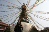 Kathmandu stupa — Stock Photo