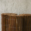 Straw fence — Stock Photo