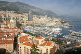 Monaco coast view — Stock Photo