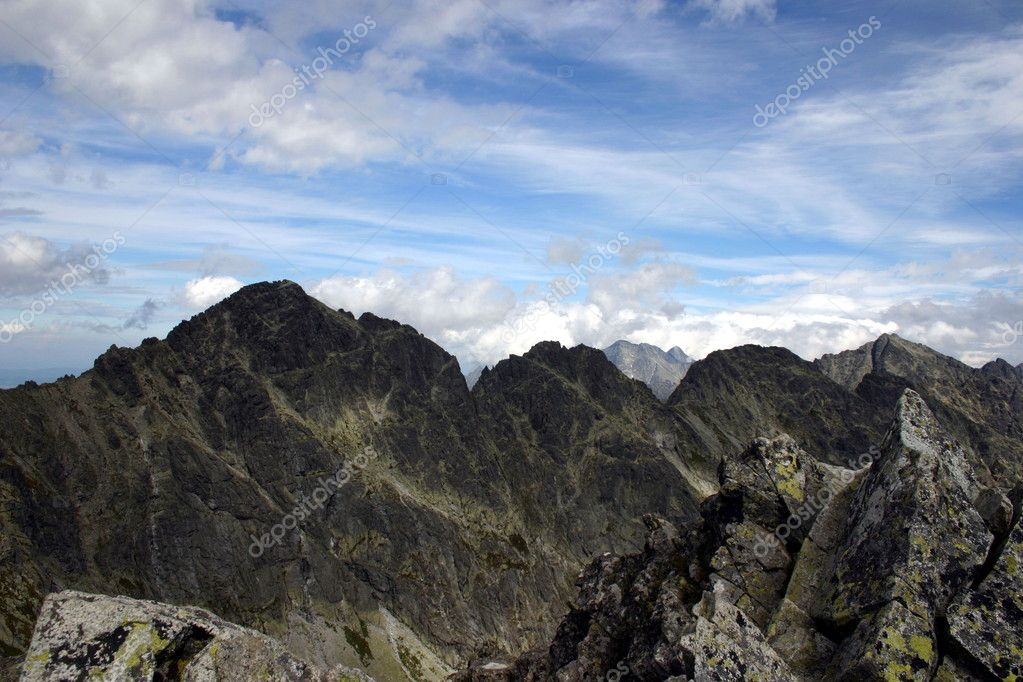 Slovakia Mountain View — Stock Photo #1936251