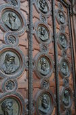 Masivní dveře — Stock fotografie