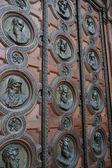 Porta massiccia — Foto Stock