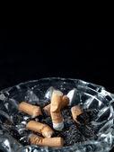 Cigarette on ashtray — Stock Photo
