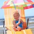 Foto Stock: Bright umbrella