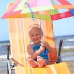 Bright umbrella — Stock Photo
