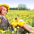 Stock Photo: Yellow summer