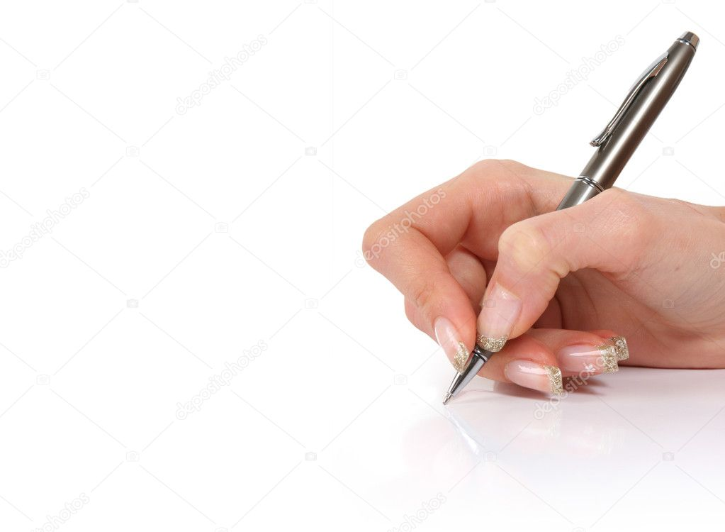 Writing  Stock Photo #2553515