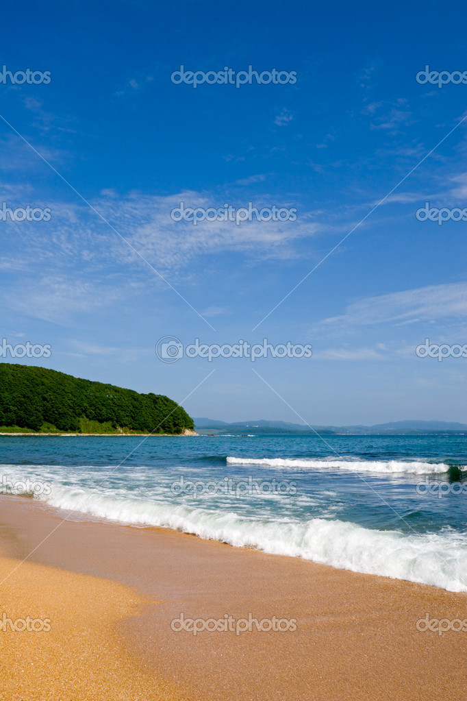 Sea surf. Summer.  Stock Photo #1772227