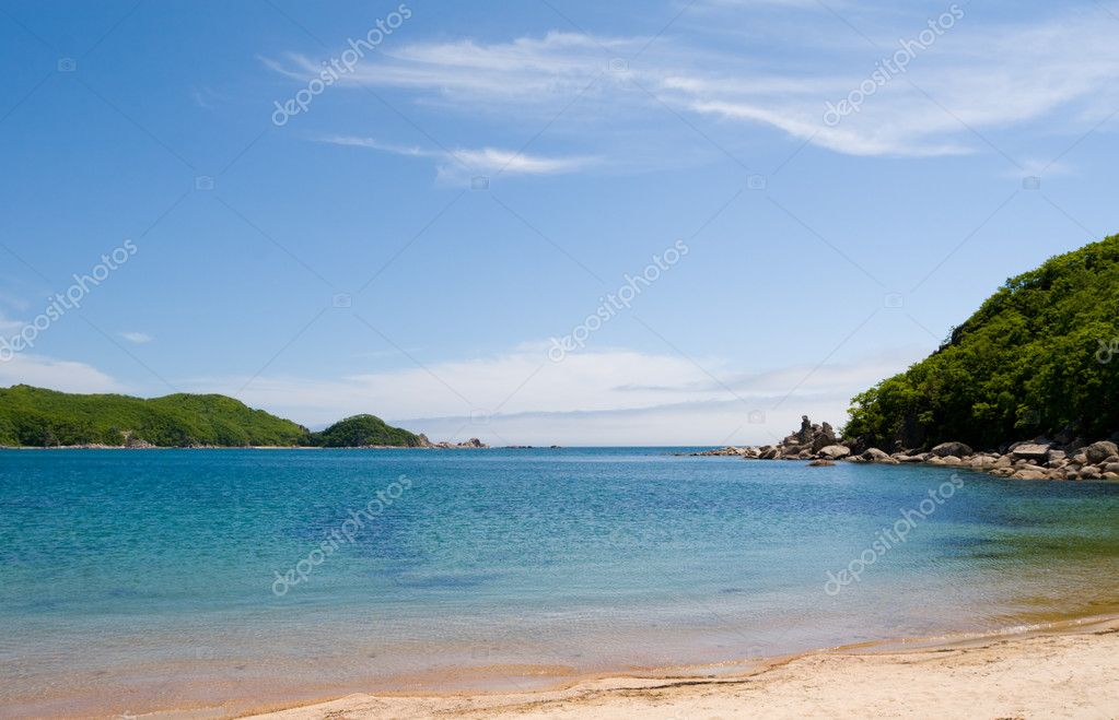The fishing boat costs(stands) at sandy coast — Stockfoto #1785248