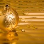 圣诞球 — 图库照片