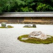 Stock Photo: Kyoto. Rock Garden