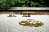 Kyoto. Rock Garden — Stock Photo