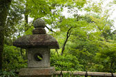 Ancient japanese lantern — Foto Stock