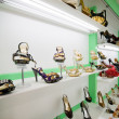 Stock Photo: Shoes shop