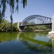 River and bridge — Stock Photo