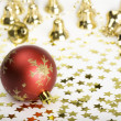 Christmas baubles — Stockfoto #1848844
