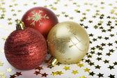 Palline di Natale — Foto Stock