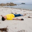 Dreaming young man — Stock Photo