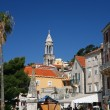 Stock Photo: Ancient street on island of Hvar