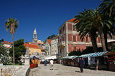 Hvar streets — Stock Photo
