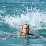 Girl swimming — Stock Photo #2239182