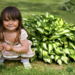 Cute little girl — Stock Photo #2350227