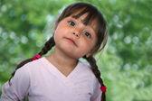 Cute little girl — Fotografia Stock