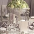 Wedding  dinner detail - Foto Stock