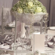 Wedding  dinner detail - Stock Photo