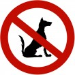 Royalty-Free Stock Photo: Restricted for dogs