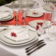 Table setting — Stock fotografie