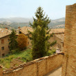 Landscape around of Urbino — Stock Photo