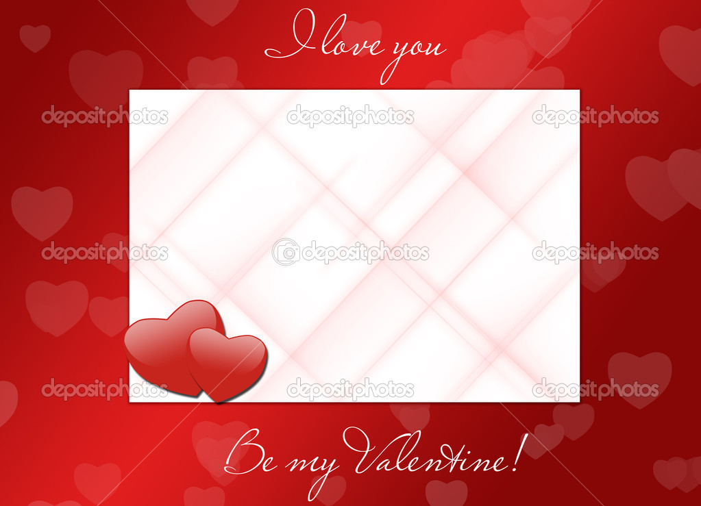 I love you, be my valentine — Stock Photo #1932470