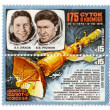 Stock Photo: Rocket, postage, USSR, cosmonaut, 1979