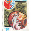 USSR, Cuba, postage, 1980, intercosmos — Stock Photo